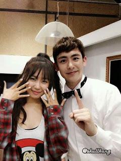 Duh, Nickhun 2PM Dan Tiffany SNSD Sudah Putus!