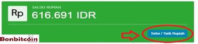 Cara PEnarikan Saldo Rupiah Di Akun Indodax3