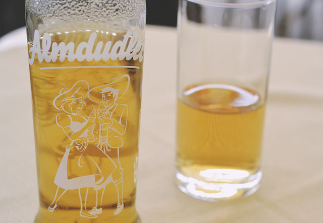 Almdudler Glass Bottle