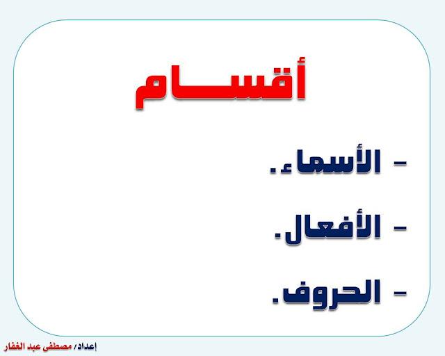 """انفراد.... كل قواعد اللغة العربية لطلاب """"ابتدائي - اعدادي - ثانوي"""" في صورة لوحات مبسطة مع الشرح والتدريبات 8"""