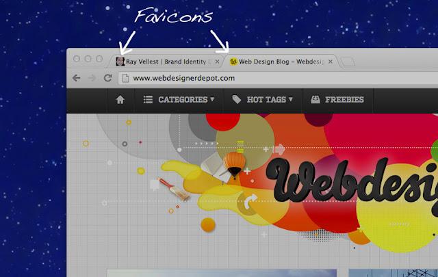 Cara Membuat & Mengganti Logo Favicon di Blog