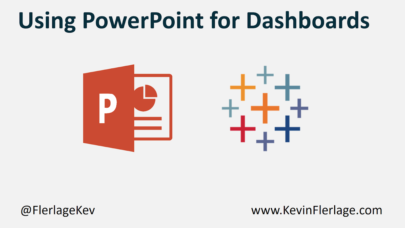 Tableau & PowerPoint – A Match Made in Heaven - Kevin