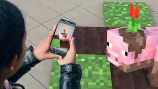 بالفيديو مايكروسوفت تكشف عن لعبة Minecraft Go بالواقع المعزز
