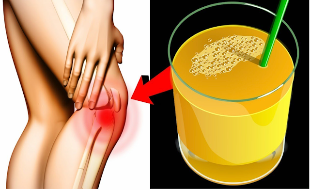 Just One Sip You Can Eliminate Joint Pain Forever With This Natural Home Remedy!
