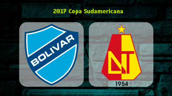 Bolívar vs. Deportes Tolima - Copa Sudamericana