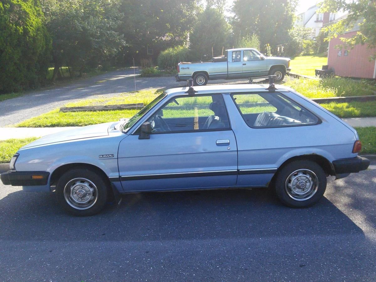 Daily Turismo: Trusty But Slow: 1984 Subaru GL Hatchback