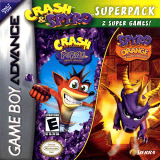 2 in 1 – Crash Bandicoot Purple – Ripto's Rampage & Spyro