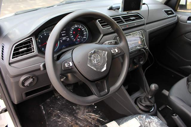 Novo VW Voyage 2019 -  - interior