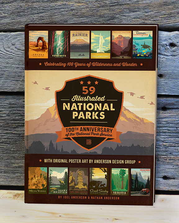 National Park Posters Series