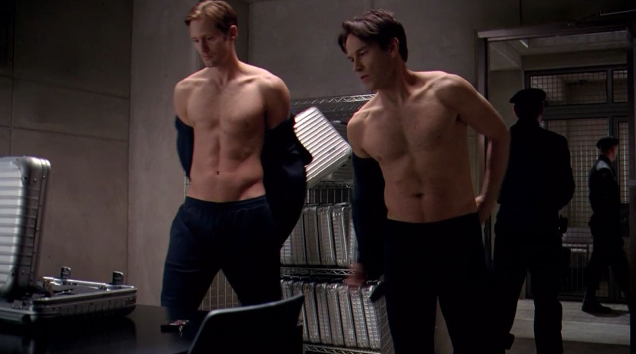 Rainbow Colored South: The Boys Of True Blood Show A Lot