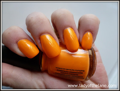 China Glaze Orange You Hot