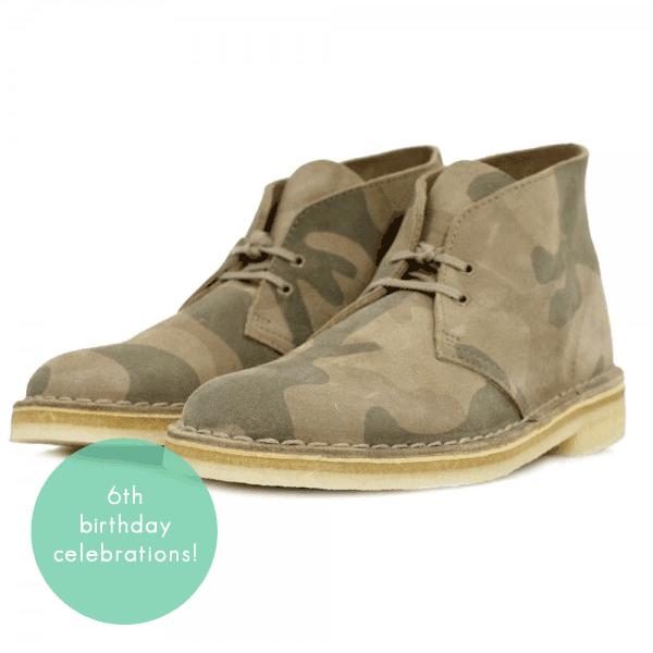 clarks originals desert boots, clarks camo desert boots, clarks desert trek, menswear fashion lifestyle blog, clarks voucher, competition, giveaway