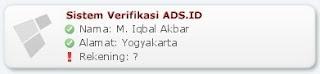 sistem verifikasi ads.id