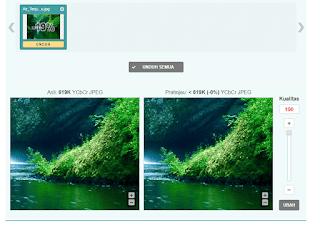 Cara Kompres Gambar Tanpa Mengurangi kualitas gambar