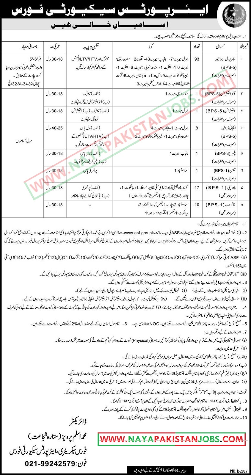 ASF Jobs 2019, ASF Jobs Feb, ASF Jobs 2019 February , ASF.GOV.PK Application form Download