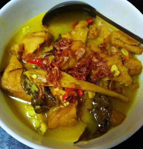 Resep dan cara masak sayur tahu kuah kuning