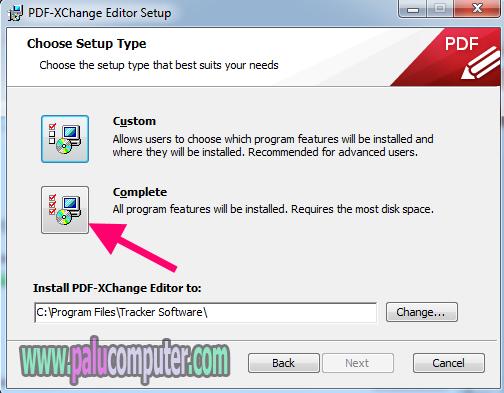 cara instal pdf xchange di komputer