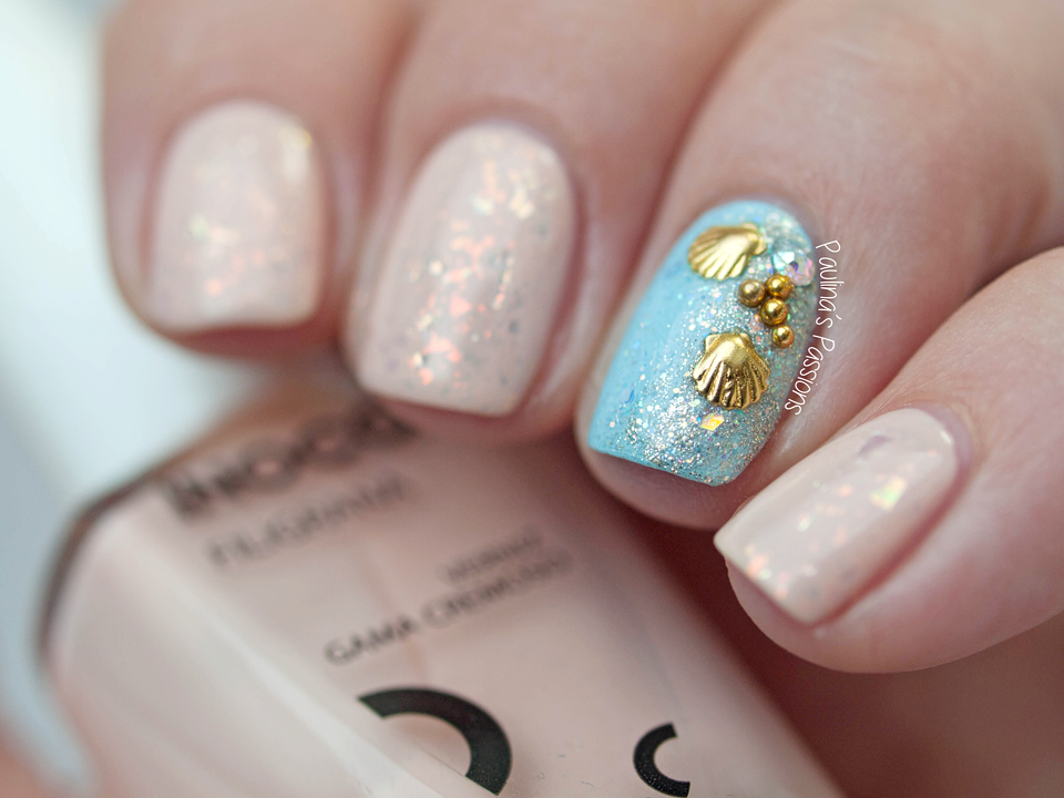 shell nails is here