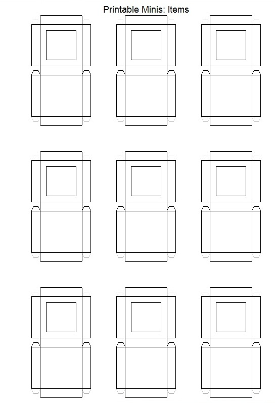 Mini Box Template. leipzig stampin up and templates on pinterest ...
