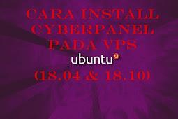 Cara Install Cyberpanel Pada VPS Ubuntu