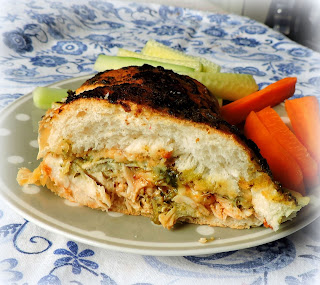 Honey & Basil Hot Chicken Sandwiches
