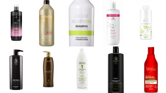 shampos low poo tamanho profissional
