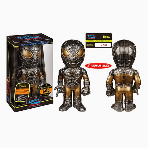 Metal Mix Spider-Man Premium Marvel Hikari Sofubi Vinyl Figure by Funko