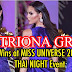 Catriona Gray Wins People's Choice at Miss Universe 2018 Thai Night Event