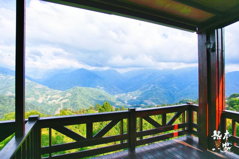 比佛利山莊|景觀家庭房|面山景房|百岳山巒景緻在眼前|清境絕美山巒景觀住宿