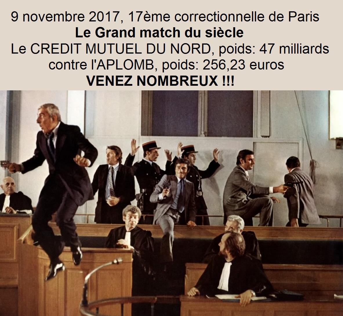 Aplomb for Chambre correctionnelle paris