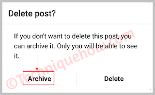 Delete a Photo from Instagram or