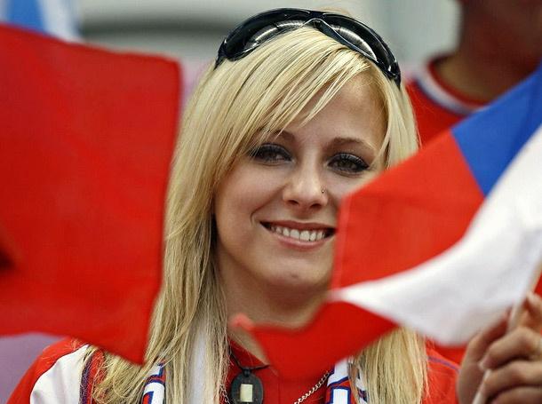 Czech Republic Female Fans-2 Euro 2016