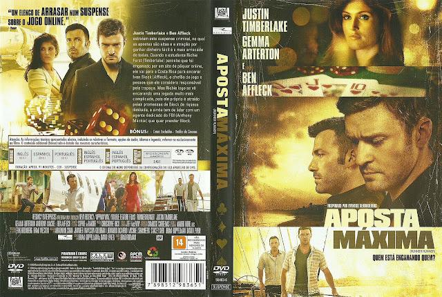 Capa DVD Aposta Máxima