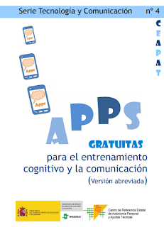 APPS GRATUITAS PARA EL ENTRENAMIENTO COGNITIVO Y LA COMUNICACIÓN