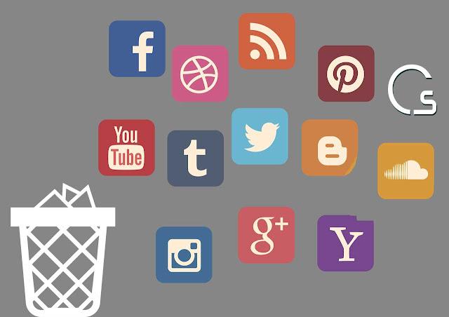 حذف حساباتك من على جميع المواقع والشبكات الاجتماعية مرة واحدة