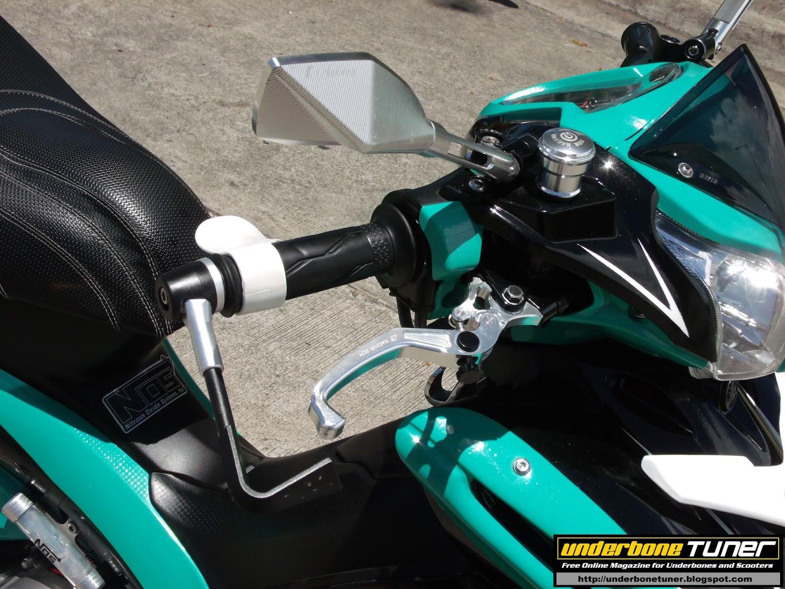 Underbone Tuner: Petronas Fomula 1 Team Inspired Modified