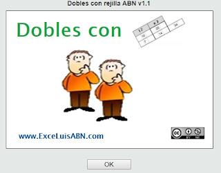 Dobles con rejilla ABN.