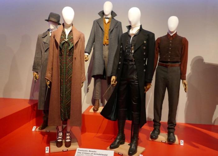 Fantastic Beasts Crimes of Grindelwald film costumes