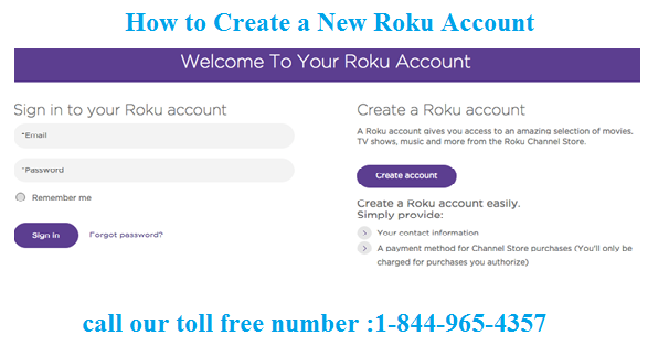 How to Create a New Roku Account?
