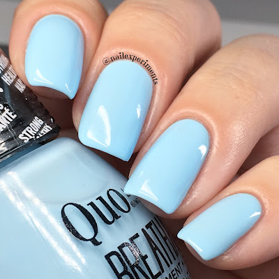 quo by orly breathable morning mantra swatch