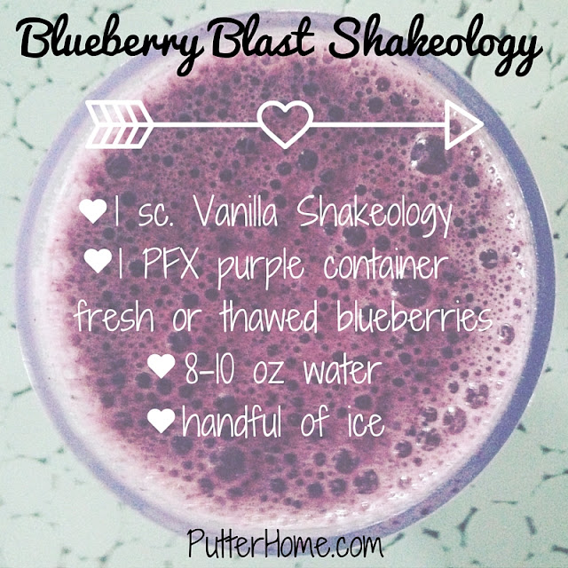 Blueberry Blast Shakeology