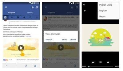 Download Video di Facebook dengan Video Downloader for Facebook yang dikembangkan oleh InShot Inc