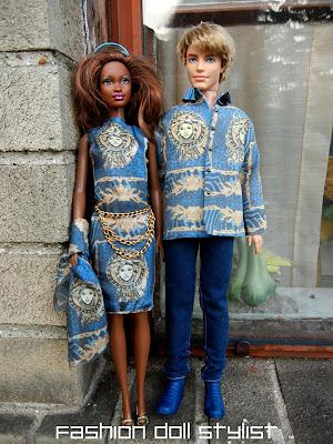 Fashion Doll Stylist Dolly Versace