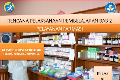 RPP Pelayanan Farmasi Kelas XI SMK/MAK Kurikulum 2013 Revisi 2018 Semester Genap
