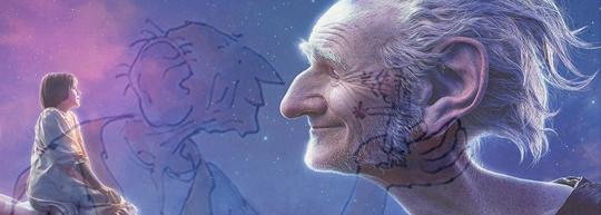 El gran gigante bonachón. The BFG. Mi amigo el gigante, de Roald Dahl y Steven Spielberg - Cine de Escritor