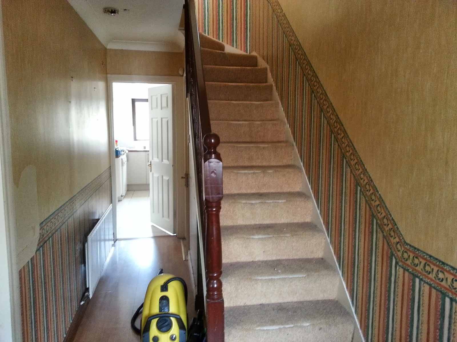 Dublinia Hallway Stairs And Landing Transformation