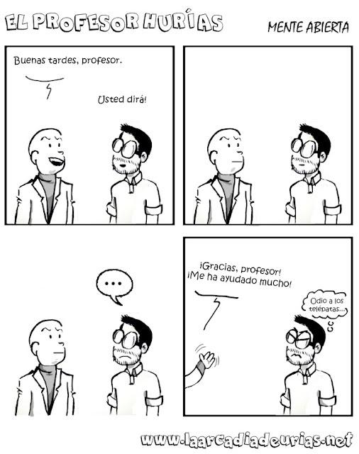 Meme de humor sobre telépatas