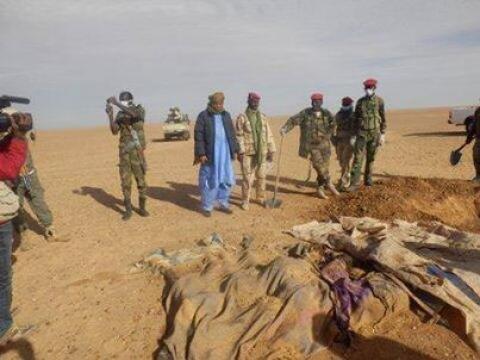 92 nigeriens thirst sahara desert