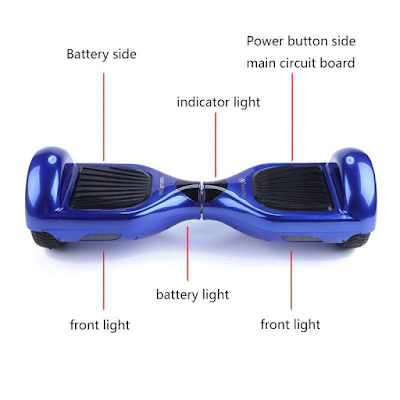 Let's Take A Look at The Self-Balancing Scooter Inside