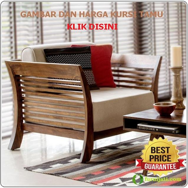 Gambar dan harga kursi sofa ruang tamu